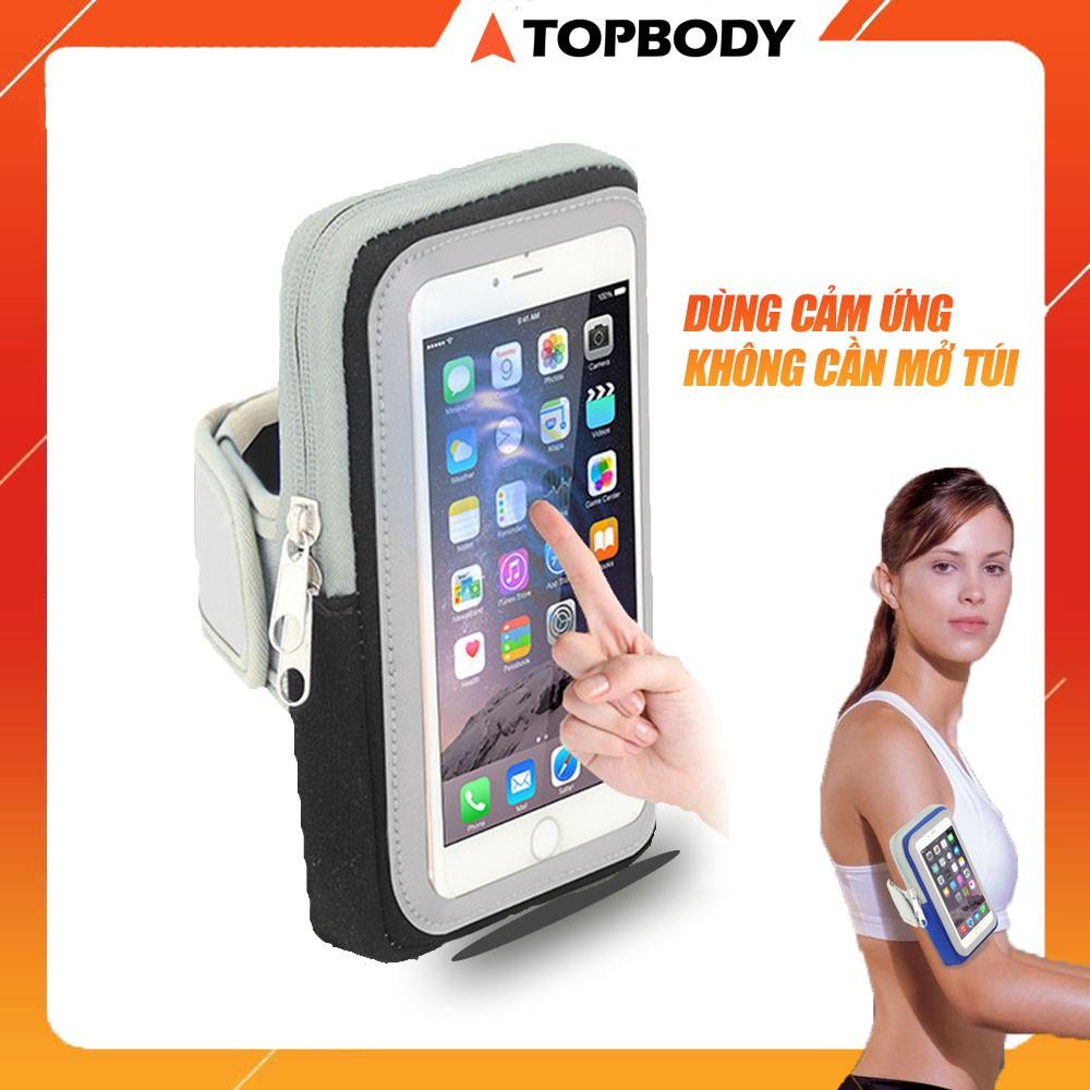 Đai đeo điện thoại chạy bộ, đai đeo điện thoại chống nước cao cấp TOPBODY-TUIDT01