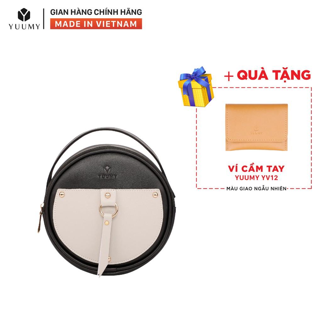Túi đeo chéo nữ thời trang YUUMY YN65 nhiều màu (Tặng ví cầm tay YV12)