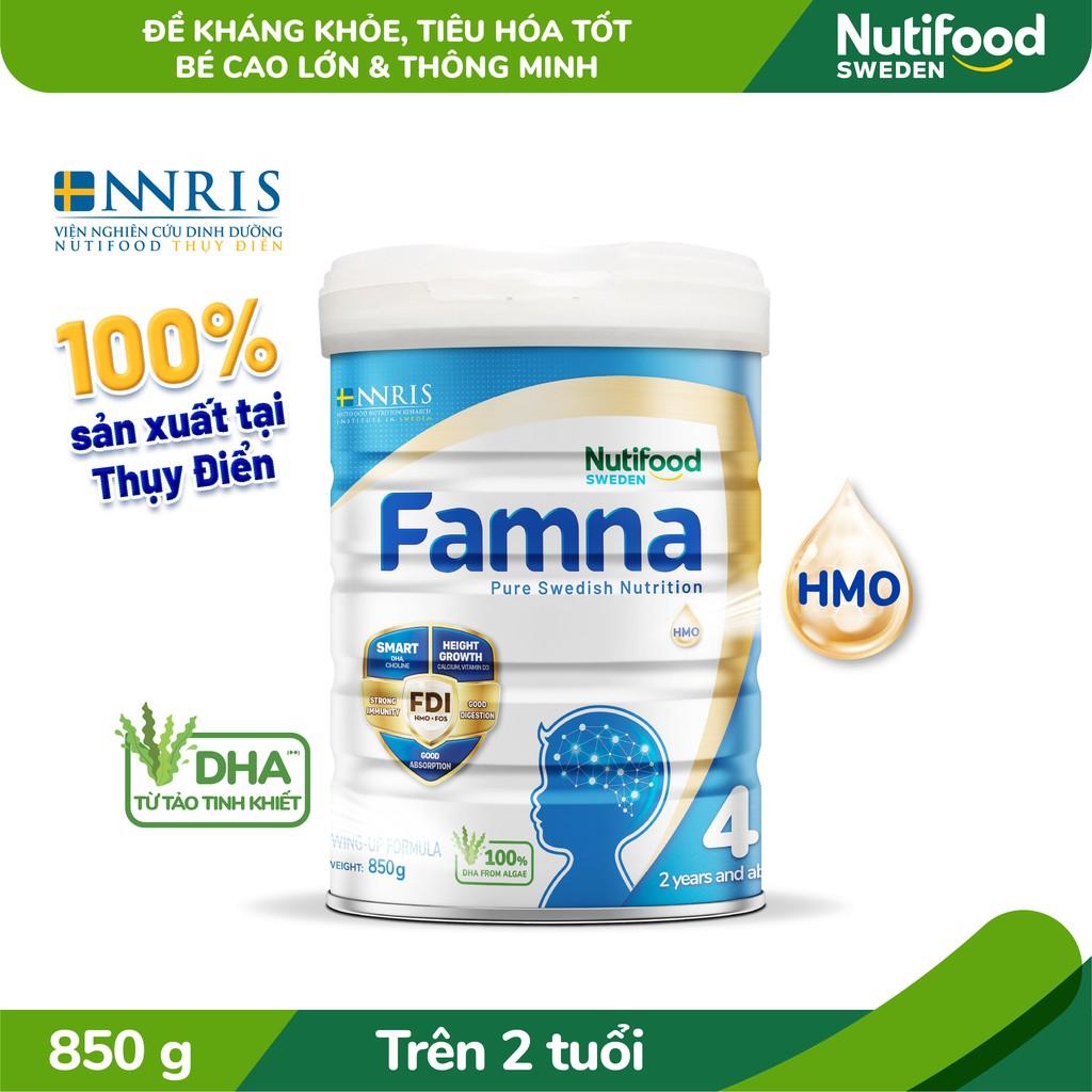 Sữa Bột FAMNA 4 Lon 850g