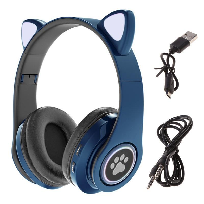 Tai Nghe Bluetooth 5.0 Không Dây Hình Tai Thỏ Nhiều Màu Sắc