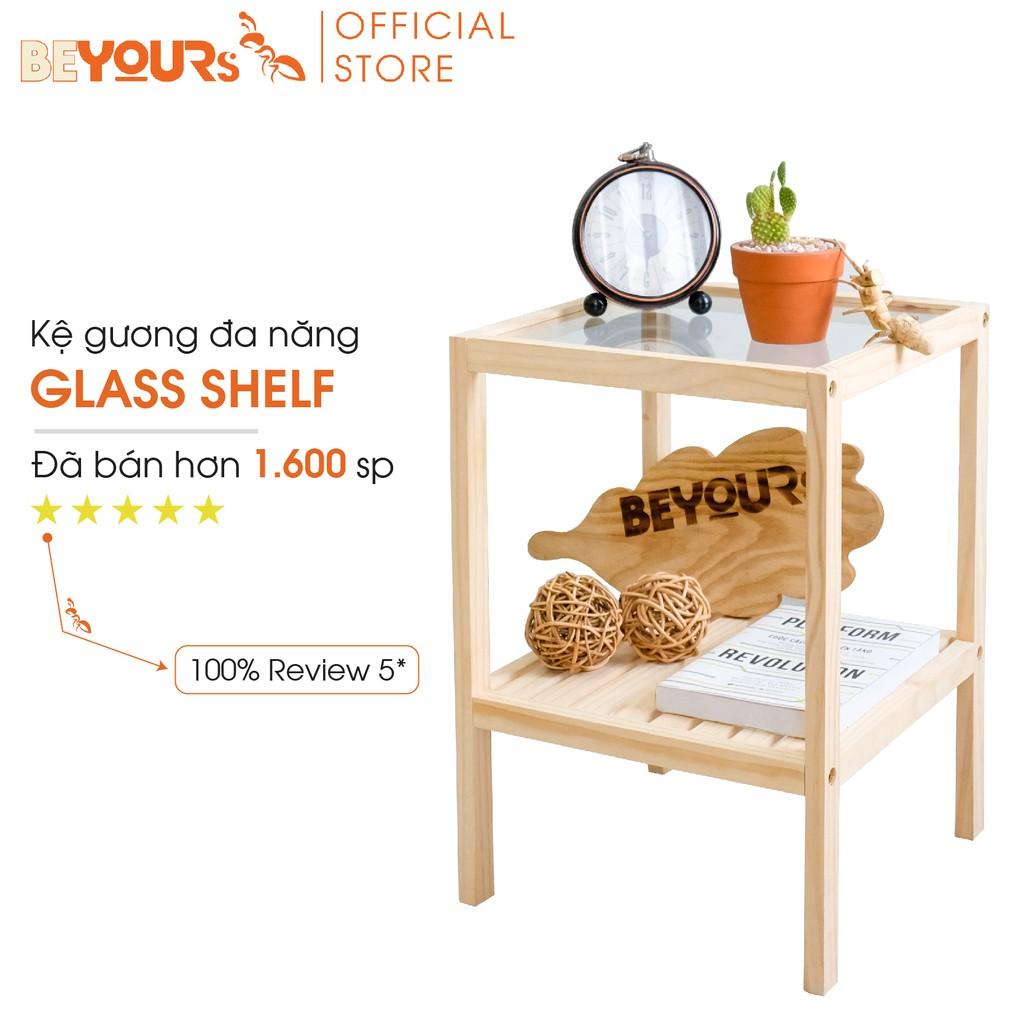 Kệ Gương Đa Năng BEYOURs Glass Shelf Mặt Kính Cường Lực