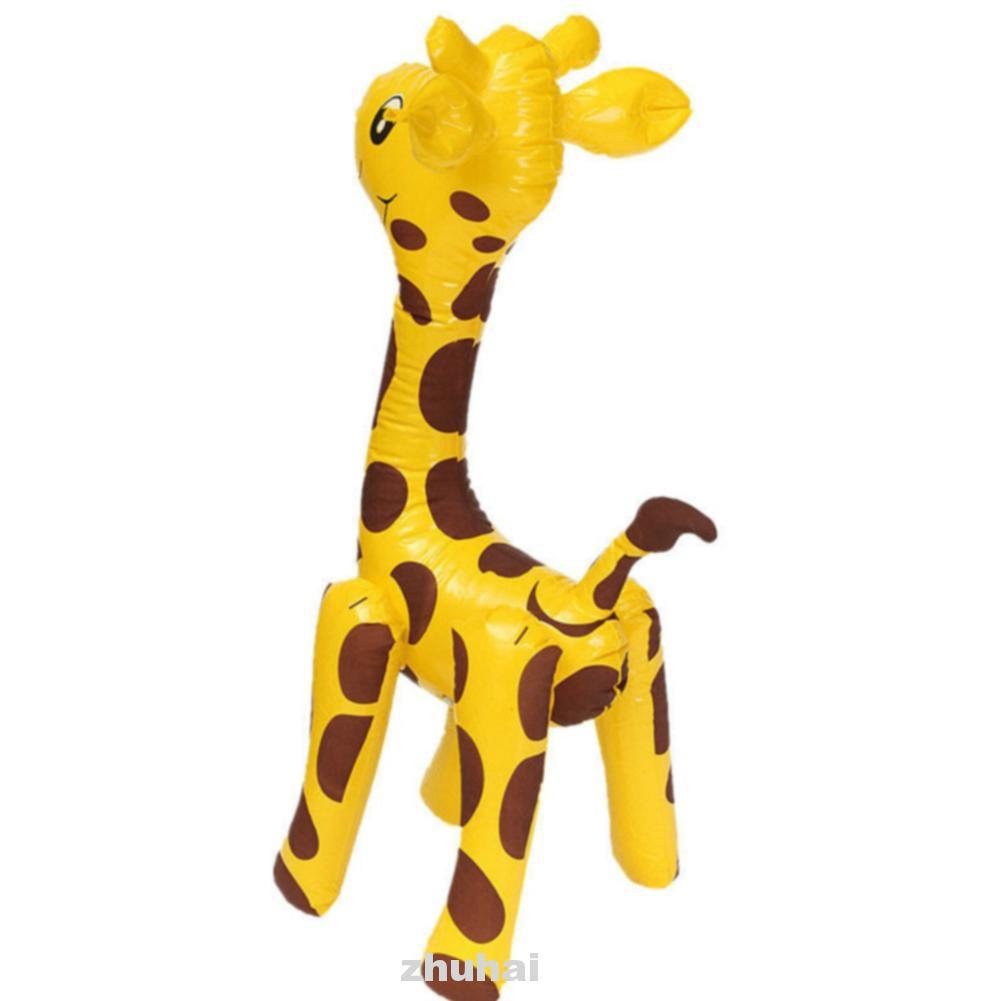Animals Cartoon Children Cute Giraffe Design Large Novelty PVC Inflatable Toy