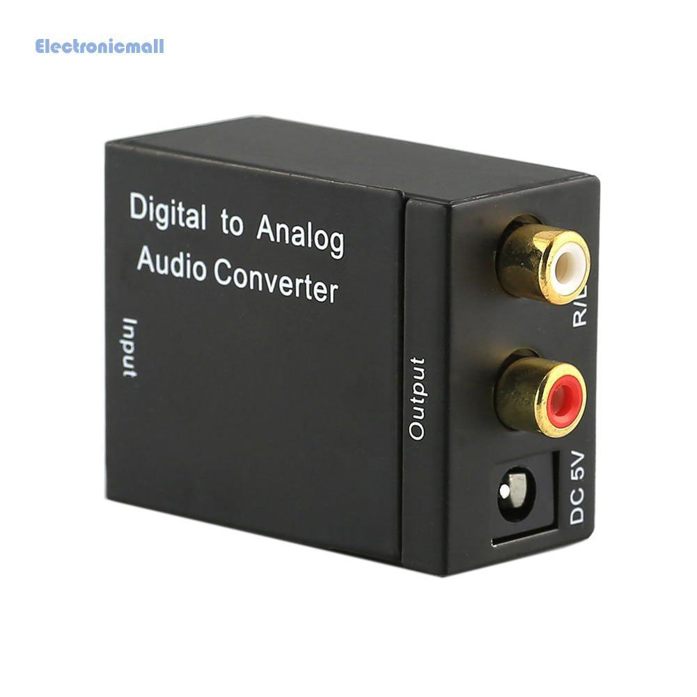 Bộ chuyển đổi âm thanh kỹ thuật số Toslink sang analog RCA L / R - 22898155 , 2829148554 , 322_2829148554 , 92000 , Bo-chuyen-doi-am-thanh-ky-thuat-so-Toslink-sang-analog-RCA-L--R-322_2829148554 , shopee.vn , Bộ chuyển đổi âm thanh kỹ thuật số Toslink sang analog RCA L / R