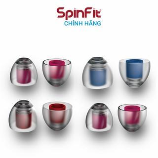 Nút tai nghe cao cấp Spinfit CP155 - Hàng chính hãng Silicon siêu mềm, xoay 360 độ, đường kính ống 5.5mm thumbnail