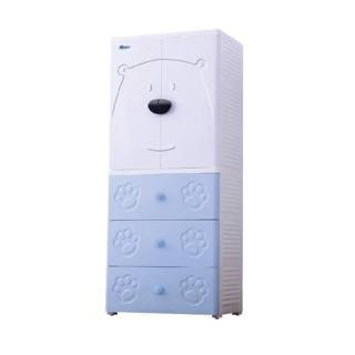 Tủ quần áo trẻ em hình gấu bear Royalcare RC01193