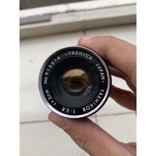 Ống kín máy ảnh phom yashica 50 2.8 ngàm m39 ltm thumbnail