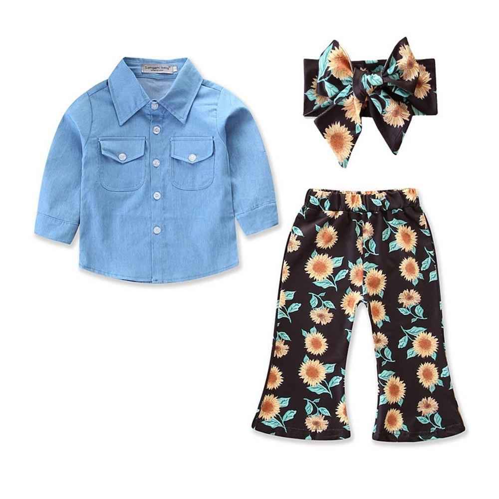 Set áo denim tay dài + quần hoa mặt trời + Băng đô cho bé gái - 13847363 , 1444904941 , 322_1444904941 , 350000 , Set-ao-denim-tay-dai-quan-hoa-mat-troi-Bang-do-cho-be-gai-322_1444904941 , shopee.vn , Set áo denim tay dài + quần hoa mặt trời + Băng đô cho bé gái