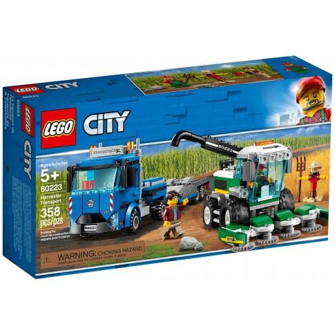 Lego City – Xe Vận Tải Máy Gặt 60223