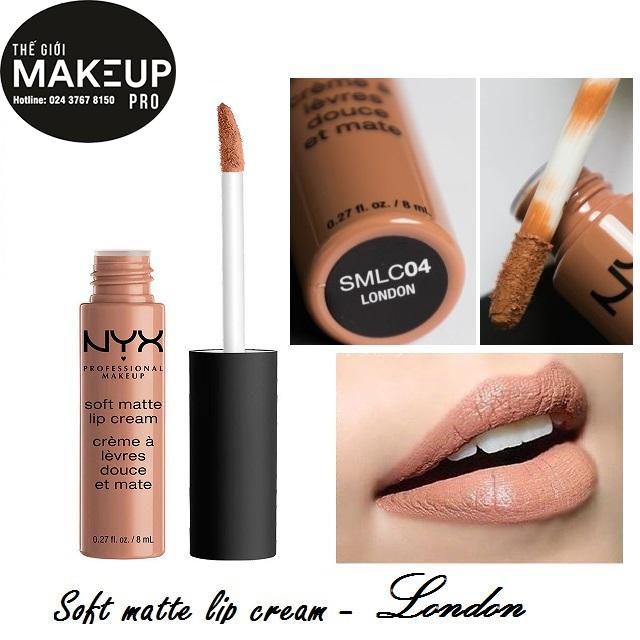 Son kem NYX Soft Matte Lip Cream London SMLC04 - 3520062 , 669119250 , 322_669119250 , 230000 , Son-kem-NYX-Soft-Matte-Lip-Cream-London-SMLC04-322_669119250 , shopee.vn , Son kem NYX Soft Matte Lip Cream London SMLC04