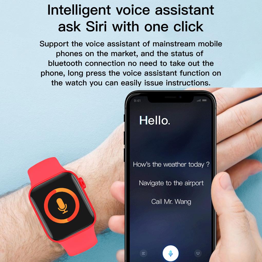 Đồng Hồ Thông Minh Kết Nối Bluetooth Màn Hình 1.75 Inch Chống Nước Chuyên  Dụng - Đồng Hồ Thông Minh