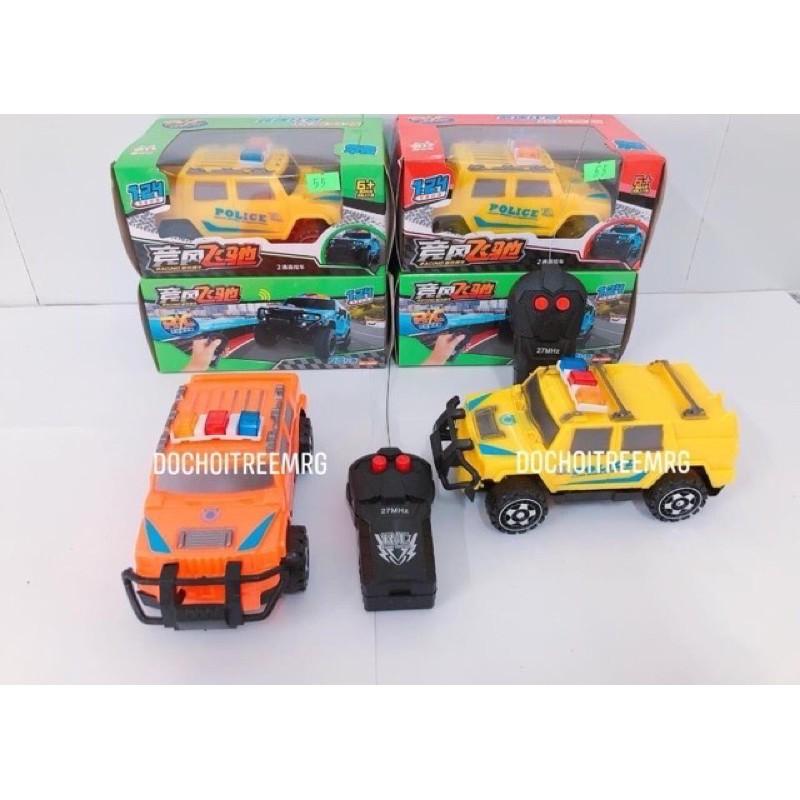 xe điều khiển từ xa mẫu xe cảnh sát điều khiển