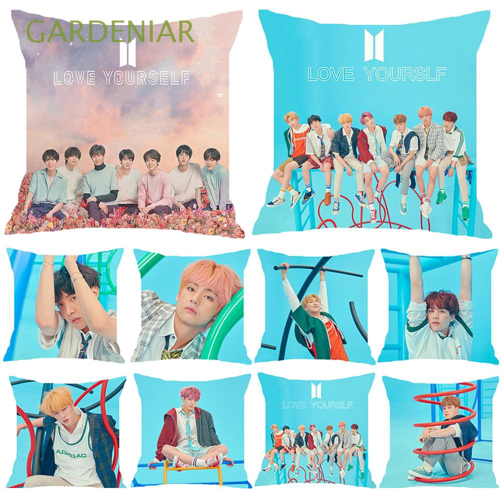Bedding Home Decor K-pop Love Yourself Fans Army BTS Pillow Case