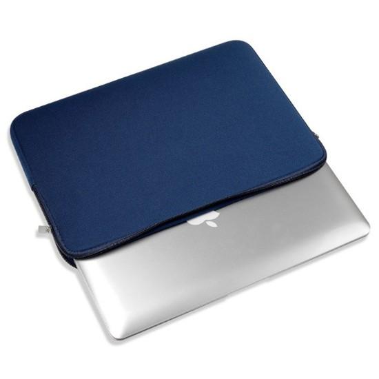 Túi chống sốc 13inch cho Macbook (Xanh navi) - Tặng dụng cụ chống ngáy ngủ