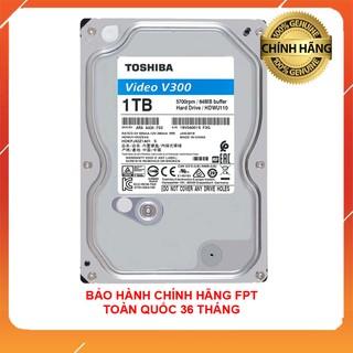 Ổ cứng 1TB TOSHIBA chuyên Camera và lưu trữ bảo hành FPT 36 tháng