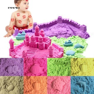 ♕50/100/200g Magic Space Clay Sand Model Non Sticky Educational Kids Play Gift