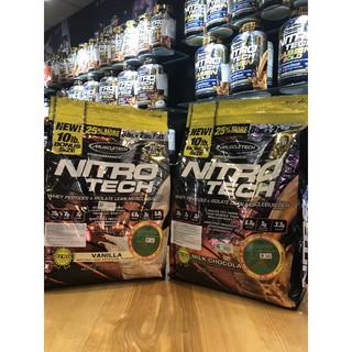 Nitro Tech 10lbs (4kg5) – Sữa tăng cơ chính hãng Muscletech