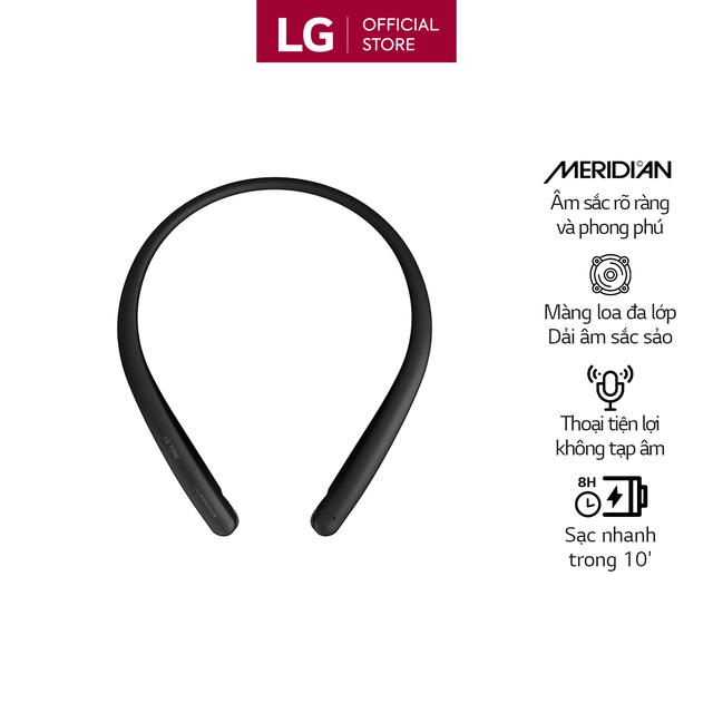 Tai Nghe Bluetooth LG HBS-SL5 - Hàng Chính Hãng - Màu Đen