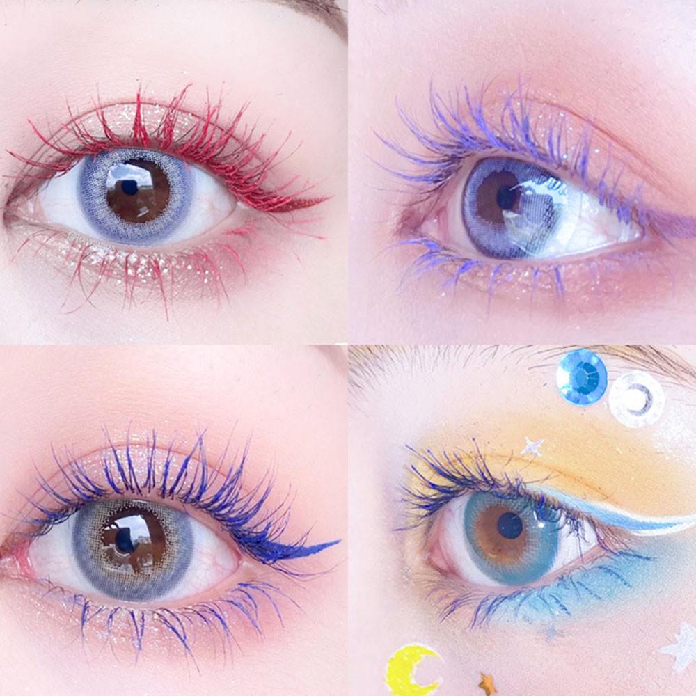 (Hàng Mới Về) Mascara Chuốt Mi Nhiều Màu Tùy Chọn Tiện Dụng