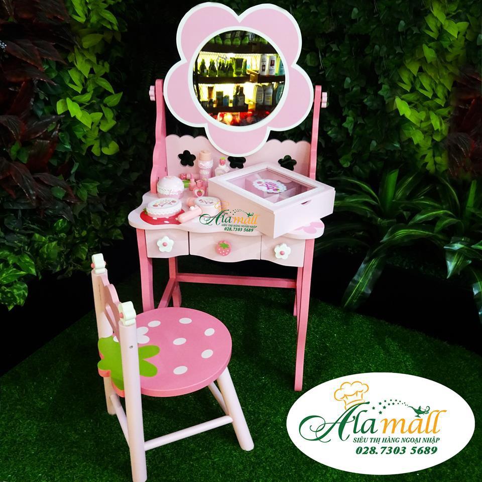 Bộ bàn ghế trang điểm gương bông hoa gỗ (full) - 14730496 , 1493538567 , 322_1493538567 , 3750000 , Bo-ban-ghe-trang-diem-guong-bong-hoa-go-full-322_1493538567 , shopee.vn , Bộ bàn ghế trang điểm gương bông hoa gỗ (full)