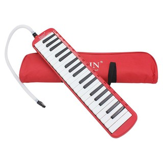 IRIN 1 set 37 Piano Keys Melodica Musical with Carrying Bag Red