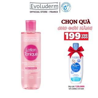 Nước hoa hồng Evoluderm se khít lỗ chân lông, dưỡng ẩm làm sạch 250ml
