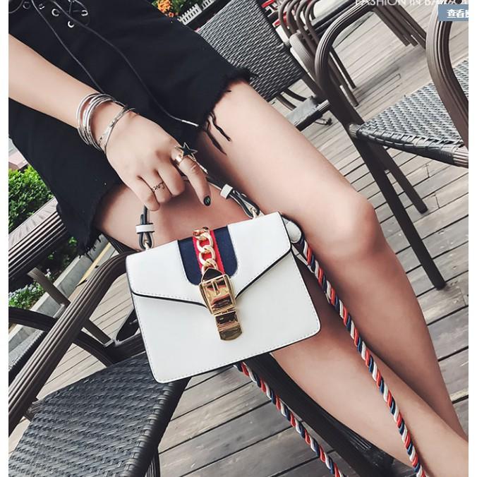 Túi đeo chéo nữ dây đeo kết sợi màu sắc mềm không hằn vết trên vai bạn - 3559562 , 1042069744 , 322_1042069744 , 225000 , Tui-deo-cheo-nu-day-deo-ket-soi-mau-sac-mem-khong-han-vet-tren-vai-ban-322_1042069744 , shopee.vn , Túi đeo chéo nữ dây đeo kết sợi màu sắc mềm không hằn vết trên vai bạn
