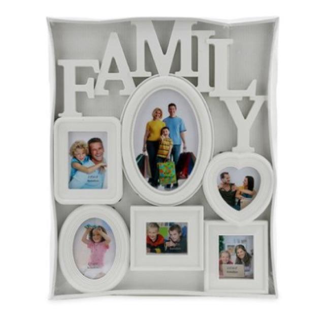 Bộ khung ảnh Happy Home Family PFFBig 35 x 40 cm (Trắng)