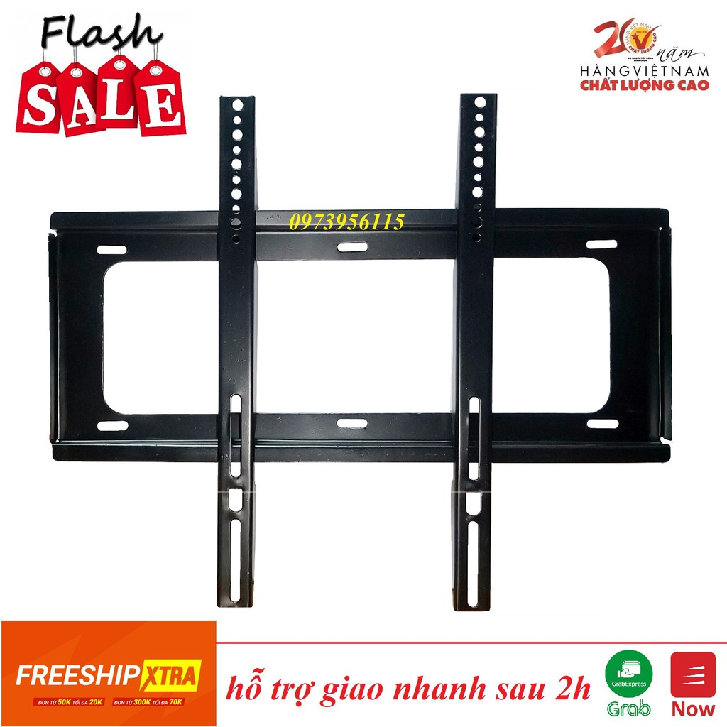 Giá treo tivi14inch - 65inch - khung treo tivi sát tường