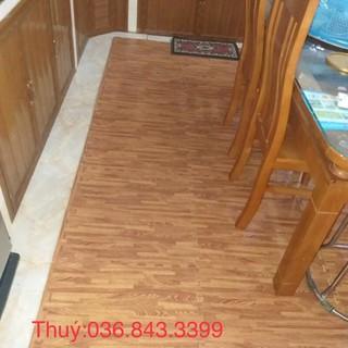Thảm xốp vân gỗ kích thước 60*60cm,cốp gồm 6 tấm(khách chọn phân loại hàng có giá đính kèm)