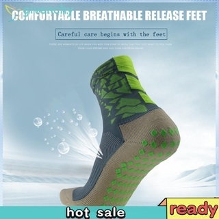Outdoor Sports Breathable Wicking Anti-slip Soccer Socks Men Football Socks