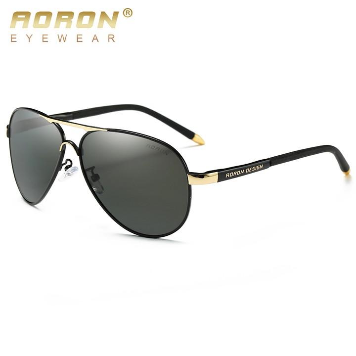 Kính mát phân cực cao cấp AORON 8503 (Đen) - NVfashion