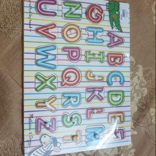 Bảng chữ cái việt nam bằng gỗ