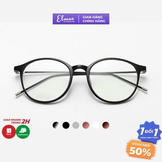 Gọng kính cận Elmee E80966 nhựa dẻo dáng thanh mảnh siêu cute nhiều màu nam nữ thumbnail