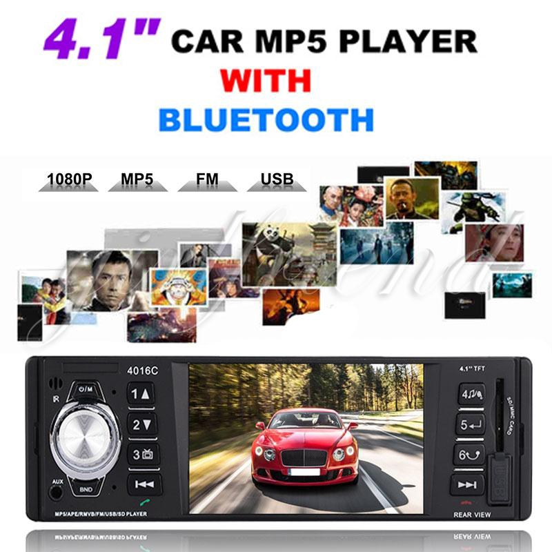 Video Player Smart Bluetooth MP3 Automobile