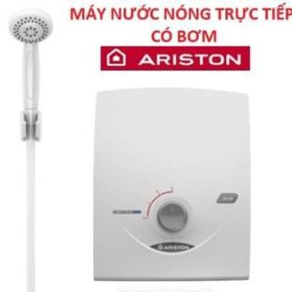 Máy nước nóng trực tiếp có bơm Ariston SB35PE-VN, bảo hành chính hãng 2 năm