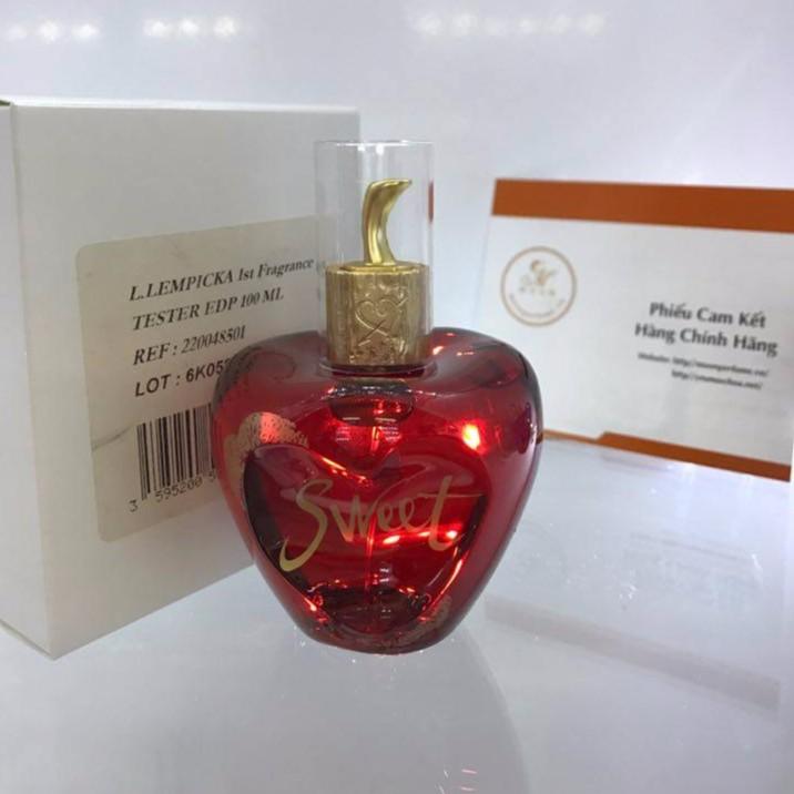 Nước hoa Sweet Lolita Lempicka 80ml edp tester hộp trăng như hình