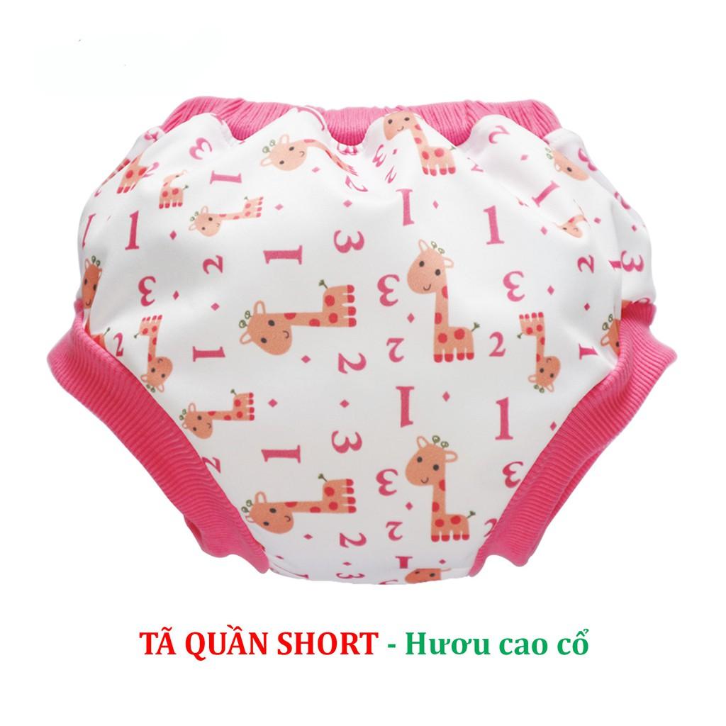 [Mẫu MỚI] Tã vải Quần short BabyCute size L (14-24kg) - Giao mẫu ngẫu