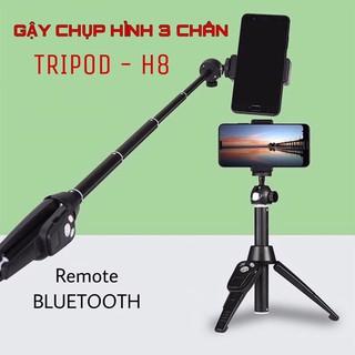 GẬY CHỤP HÌNH TRIPOD 3 CHÂN BLUETOOTH H8