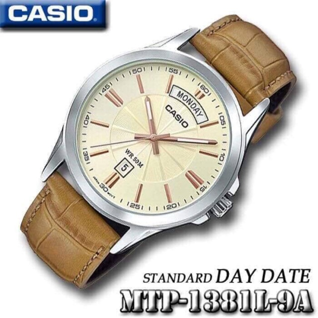 Đồng hồ nam Casio MTP-1381L (authe