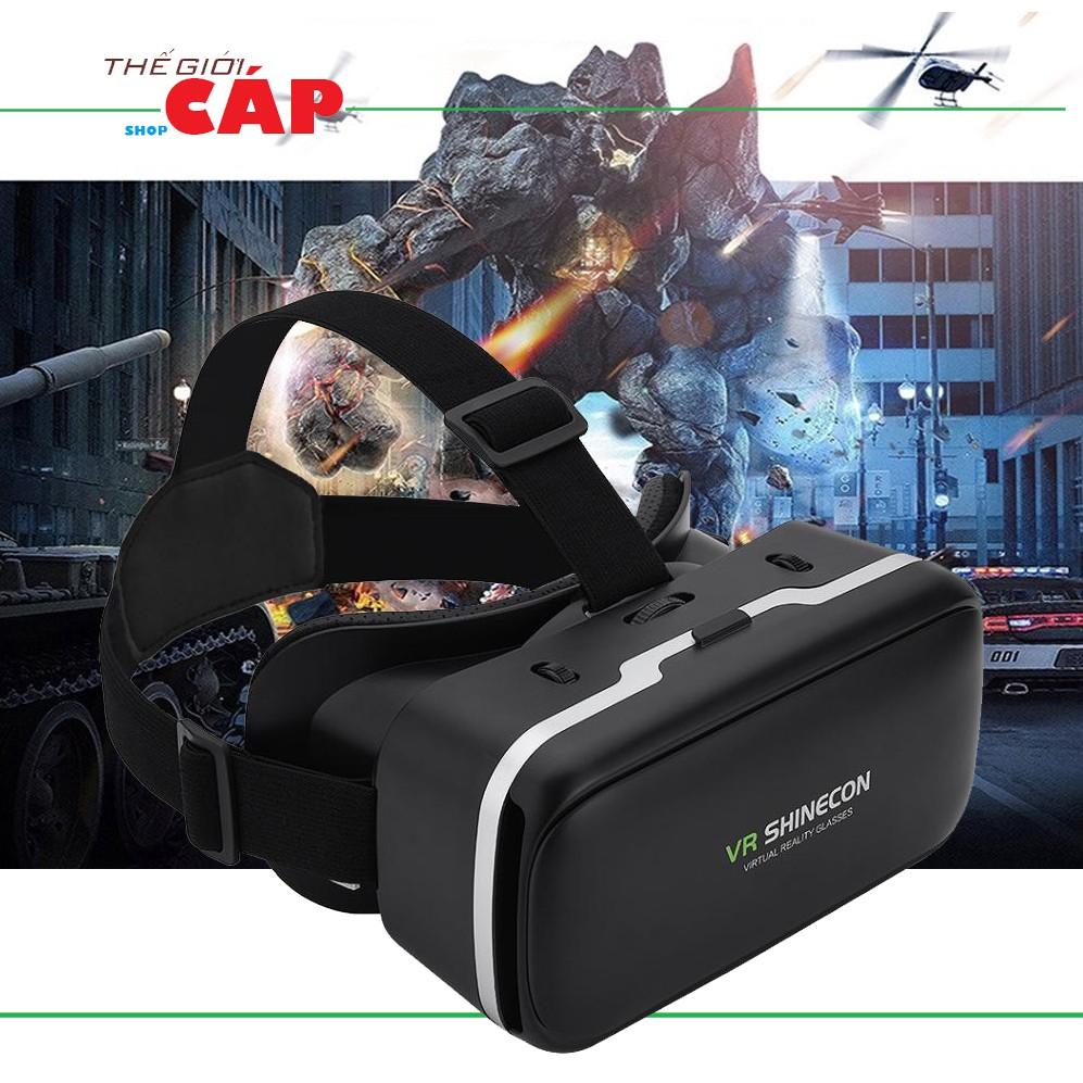 Kính thực tế ảo VR Shinecon (Đen)