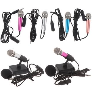 Micro Mini Hát Karaoke Đầu Cắm 3.5mm Cho Điện Thoại / Pc