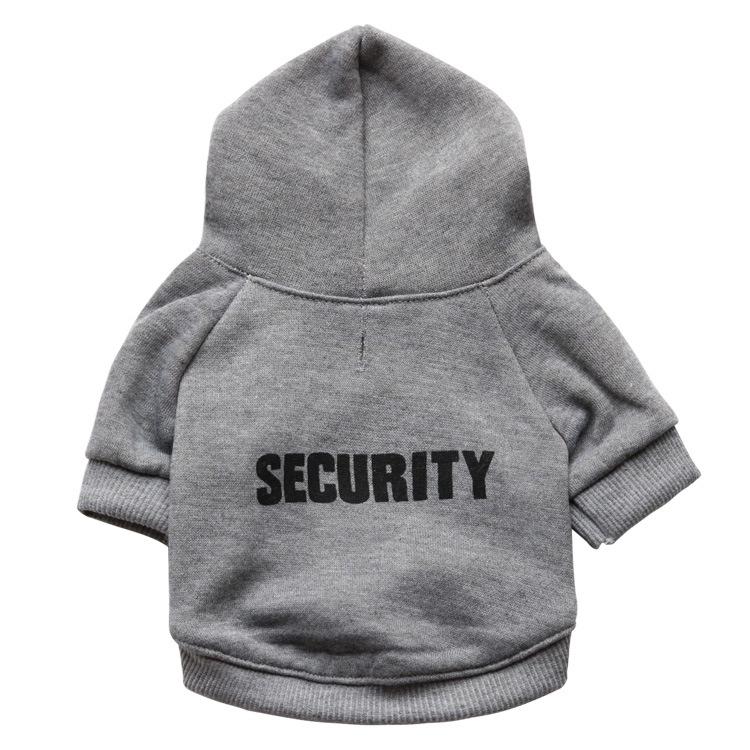 Pet articles, dog clothes, flannel cloth, caps, security pets