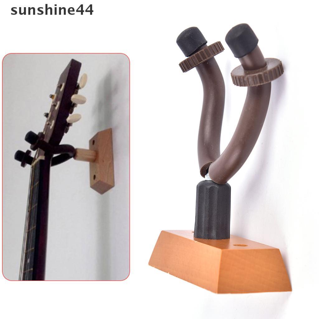 sunshine44 Solid Wood Guitar Stand Hanger Hook Holder Wall Mount Stand Bracket Display .