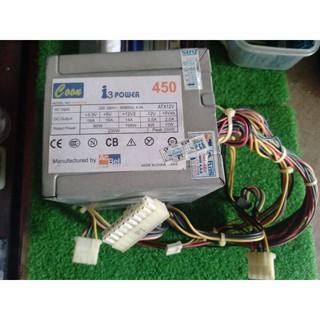 Bộ Nguồn Vi Tính AcBel 450 hoạt động tốt zin tháo máy