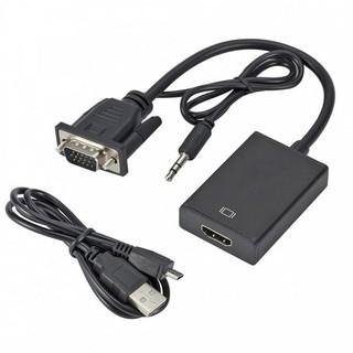 Cáp chuyển đổi VGA sang HDMI có audio
