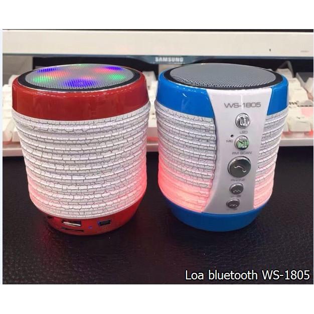 Loa bluetooth WS-1805B có đèn led đổi màu cực đẹp - 2758071 , 261584360 , 322_261584360 , 183000 , Loa-bluetooth-WS-1805B-co-den-led-doi-mau-cuc-dep-322_261584360 , shopee.vn , Loa bluetooth WS-1805B có đèn led đổi màu cực đẹp