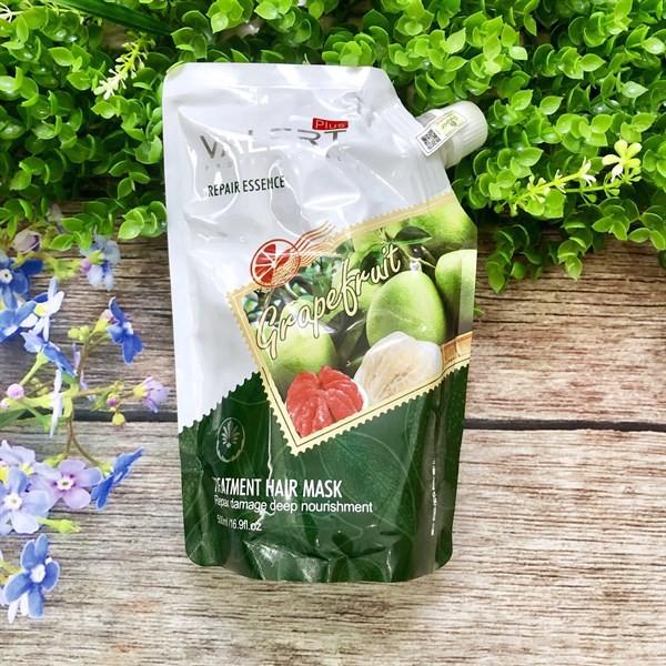 Hấp dầu bưởi collagen Grapefuit Valert cho tóc khô hư tổn 500ml