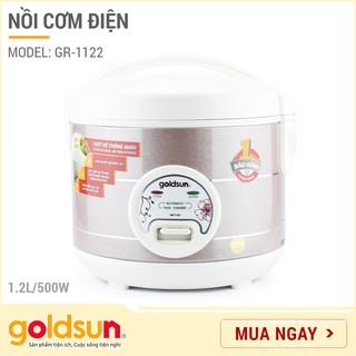 Nồi cơm điện Goldsun 1,2 lít GR-1122 - Công suất 500W