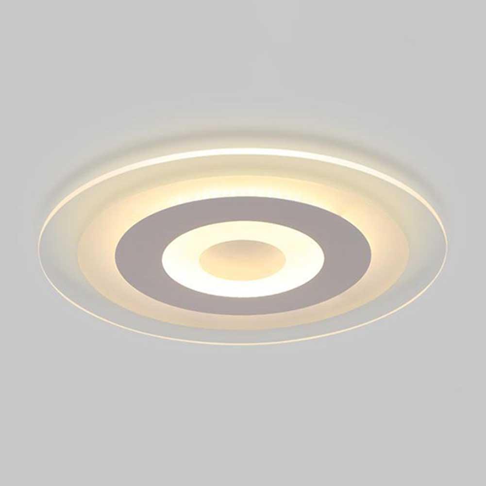 Đèn Led Gắn Trần Nhà Hình Tròn Siêu Mỏng Trang Trí Nhà Cửa
