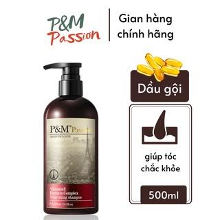 Dầu gội ngăn rụng tóc kích thích mọc tóc nhanh P&M Passion PHÁP NHẬP KHẨU CHÍNH HÃNG chăm sóc da đầu 500ml thumbnail